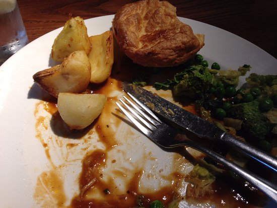 The Swallows Return: Cold Yorkshire pudding & potatoes