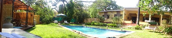 Central African Wilderness Safaris Heuglin's Lodge Lilongwe: View from my lounger by the pool