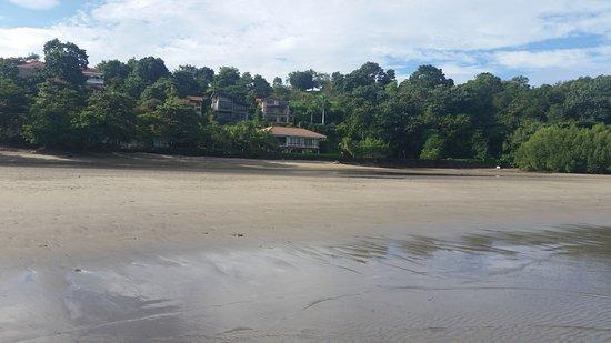 Club Punta Fuego: low tide