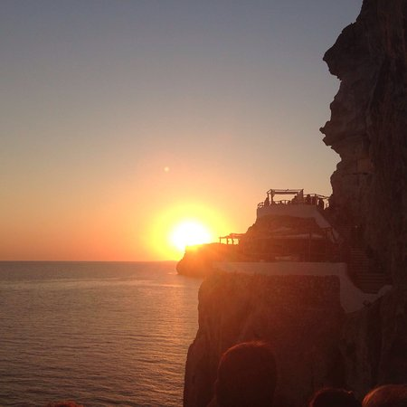 Cala'n Porter, Spain: Puesta de sol