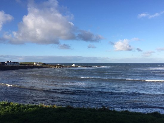 Portballintrae, UK: Great View from the restaurant window!