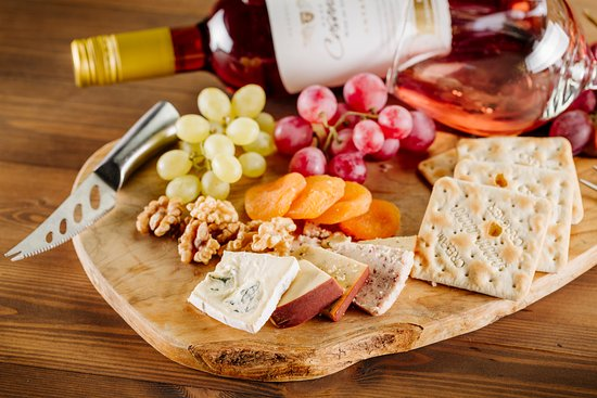 Almond Holiday Village: Cheese Board