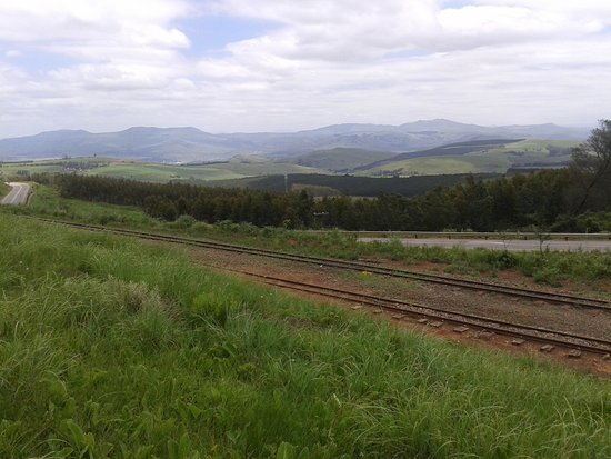 Ixopo, Νότια Αφρική: view over KZN near Donnybrook