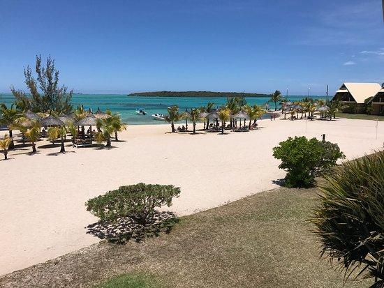 Preskil Beach Resort La Chambre Et Vue De Notre Lodge