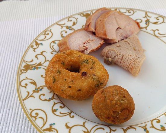 โรงแรมดิ โอเบรอย อุไดวิลาส อุไดพูร์: Delicias locales en ei desayuno