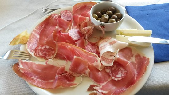 Lanusei, Italia: antipasto sardo