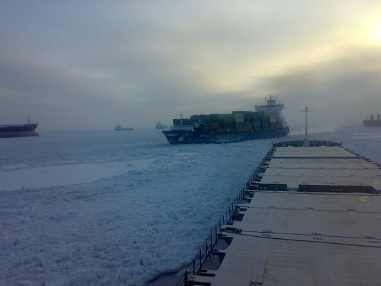 Russian Gulf of Finland Coast, Rusko: Ледовые приключения