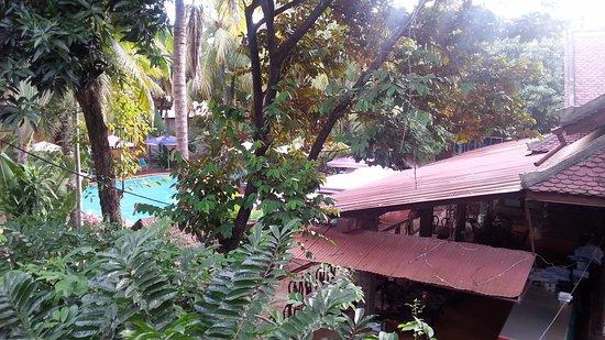 Neak Pean Hotel: Uitzicht