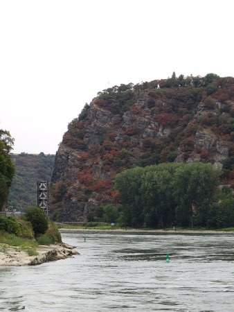 Sankt Goarshausen, เยอรมนี: Rhine River at Loreley