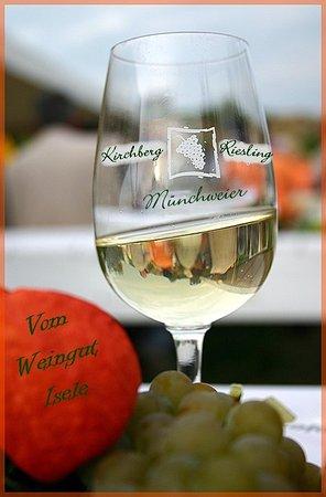 Ettenheim, Germany: Ein Rislingwein vom Kirchberg in Münchweier,extra Klasse.