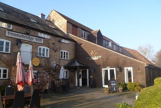 Fromebridge Mill: Entrance