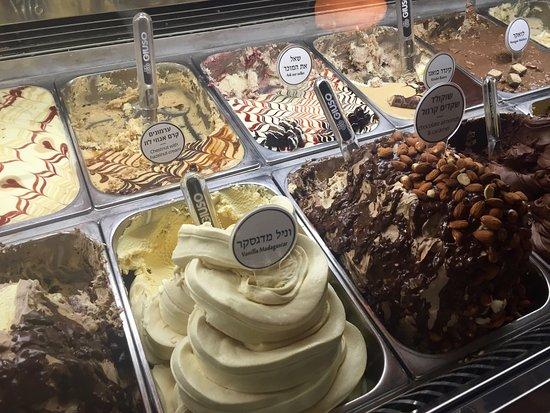 Anita Cafe La Mamma del Gelato: selection