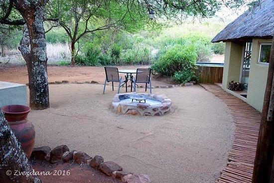 Louis Trichardt, Sudáfrica: The braai area