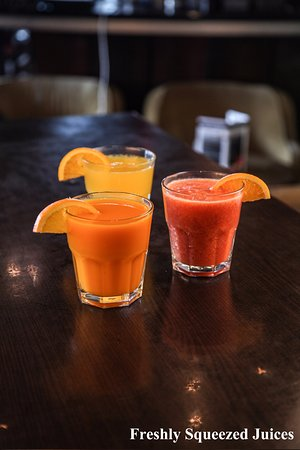 Barrie, Canadá: freshly squeezed juices