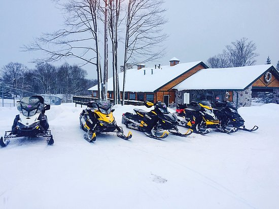 The Ridge: Snowmobiles Are Welcome!