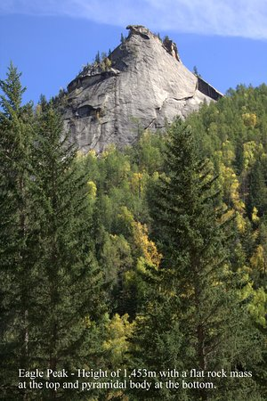 Fuyun County, Çin: Eagle peak