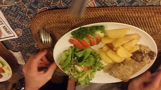 nugget s corner this is one of the nicest food places in kuta lombok amazing food
