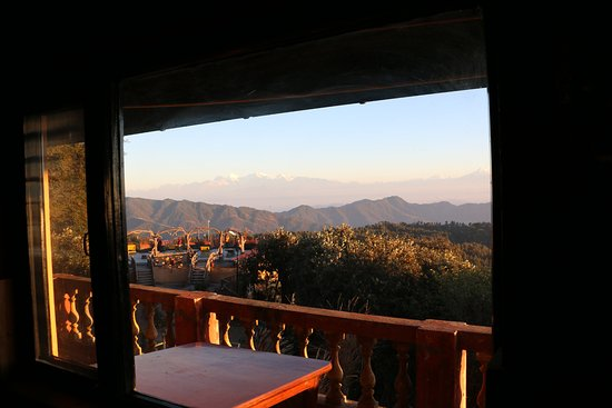Daman, Nepal: View from the restaurant