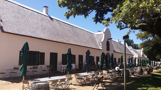 Constantia, Republika Południowej Afryki: Restaurante