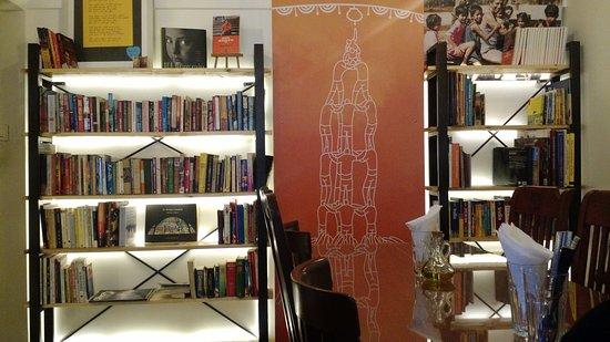 Bombay To Barcelona Library Cafe The Bookshelf