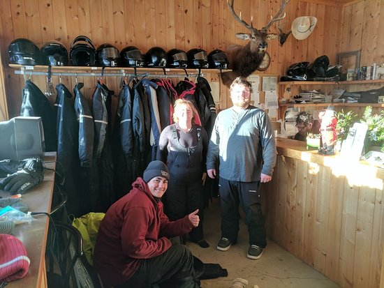 Chewack River Guest Ranch: Getting geared up