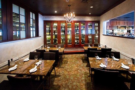 Jackson S Bistro Bar Sushi Semi Private Wine Room
