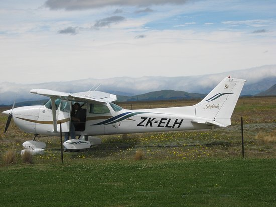 Twizel, New Zealand: The Cessna. Suitable for lower temperatures.