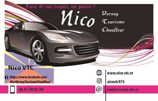 Nico VTC Ma Carte De Visite