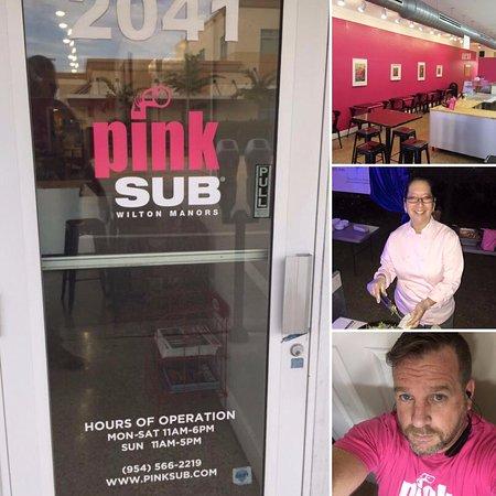 Pink Sub Wilton Manors