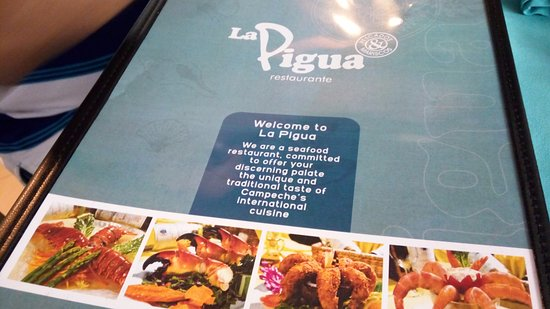 la pigua menu card top