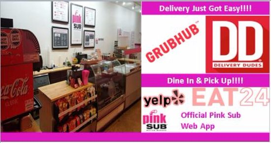 Wilton Manors, FL: Pink Sub Eat-in, Delivery and Pick-UP