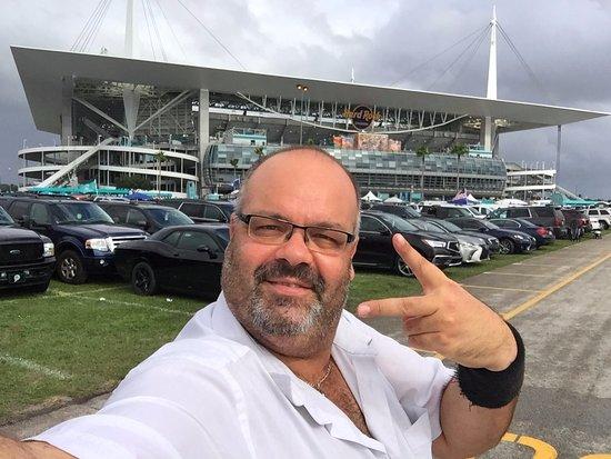 Miami Gardens, FL: Le superbe stade des Dolphins de Miami !