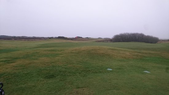 Southerness, UK: December golf