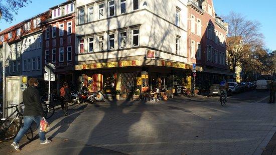 Café Inti Vom Wilhelmsplatz Aus Bild Von Café Inti Göttingen