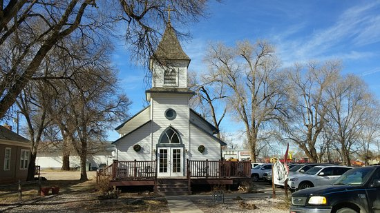 Rocky Ford, CO: Christine's is located in a Building built in 1910 by the members of a German Lutheran church.