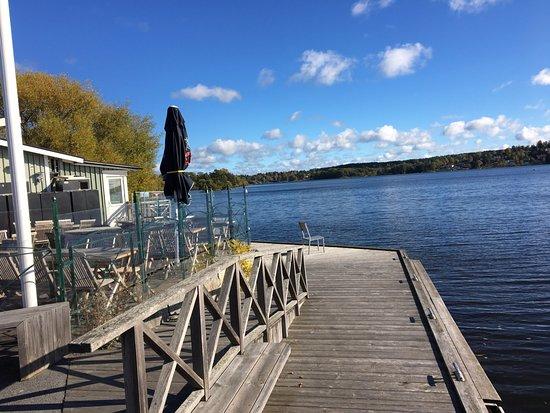 Sigtuna, Sverige: ahşap kaldırımlar