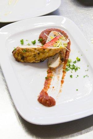 Lednice, Tjekkiet: Kuchyně Restaurant Café Onyx