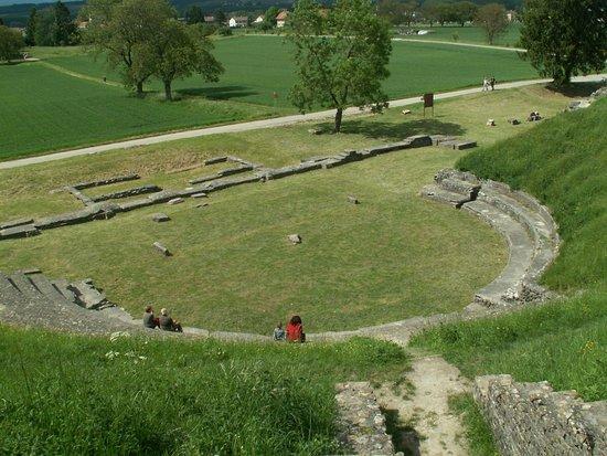Avenches, Szwajcaria: Древнеримский театр