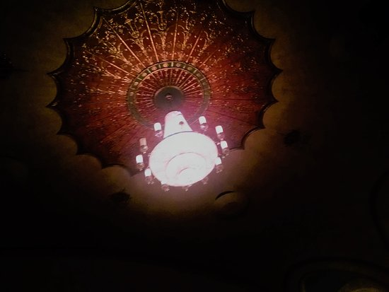 Lakewood, NJ: Main Chandelier from Orchestra