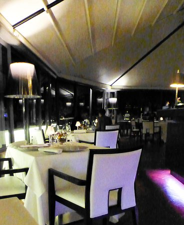 Sofitel Rome Villa Borghese: Rooftop dining - not cheap but top class food