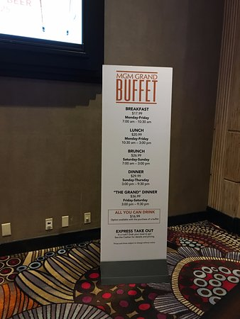 prices as of december 19 2016 picture of mgm grand buffet las rh tripadvisor com mgm buffet prices las vegas mgm buffet price 2017