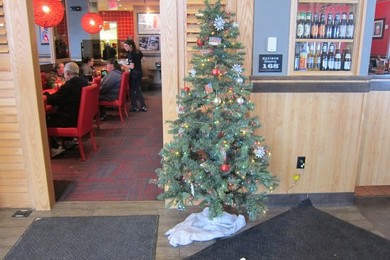 red robin gourmet burgers christmas cheer