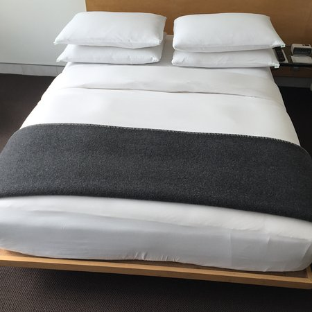 Hotel Habita: This was our twin deluxe bed, not the deluxe king bed I had reserved
