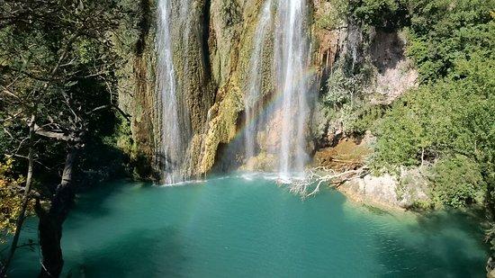 Sillans-la-Cascade, فرنسا: Sillans-la-Cascade Waterfall