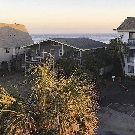 Ocean Isle Beach, Carolina del Norte: View from my balcony