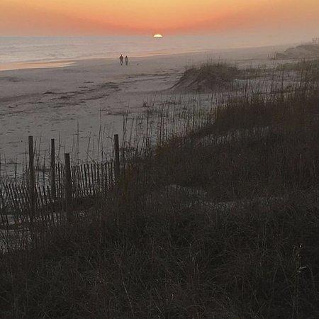 Ocean Isle Beach, Carolina del Norte: view from the walkway