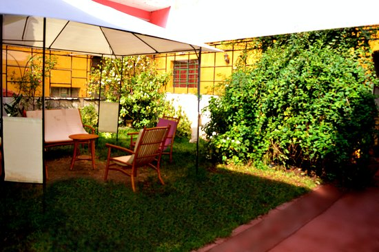 Incama Hostel Cusco: JARDIN INCAMA HOSTEL