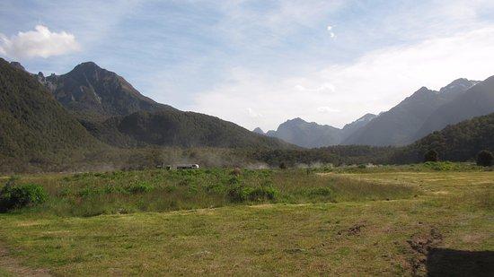 DOC Cascade Creek Campsite : Beautiful views