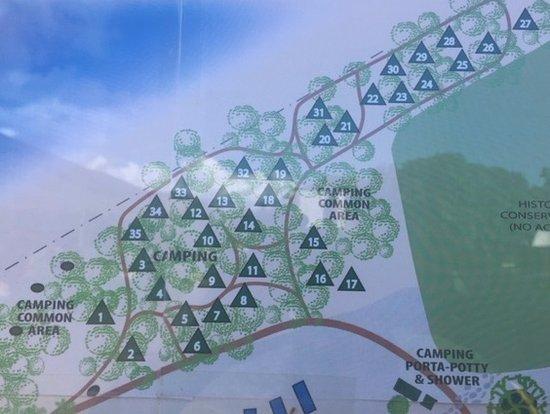 Camp Olowalu: olowalu tent numbers