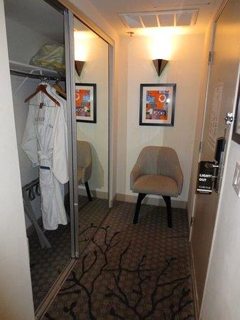 The Carlyle Inn: Closet with bathrob